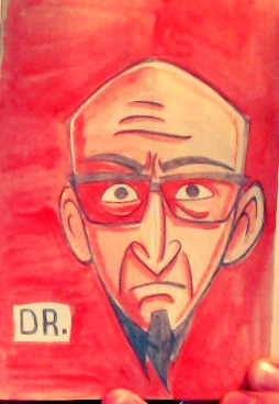 dr venture watercolor